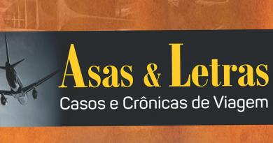 """Capa do livro """"Asas & Letras"""", de Mario Calmon Foto: Reprodução"""