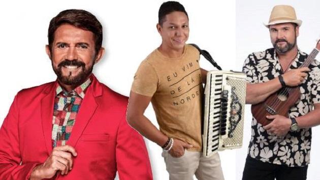 Adelmário Coelho, Targino Gondim e Léo Estakazero realizam live especial de São João