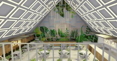 Vila San Pirâmide do Rio Vermelho Reprodução 3D