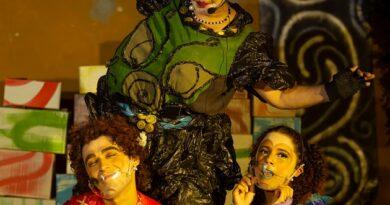 Consciência ambiental é tema de musical infantil O Fabuloso Lixão - Foto: Estúdio Café Pixel