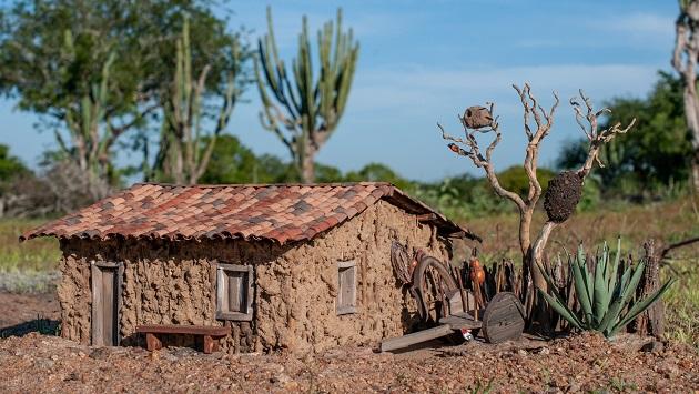Artista Edson Duarte lança exposição Casas Antigas do Sertão - História em Miniaturas