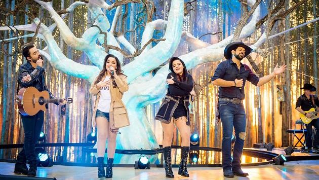 Live junina reúne as duplas Maiara & Maraisa e Fernando & Sorocaba