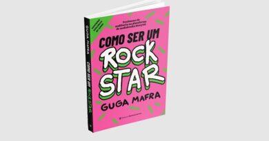"""Chega às livrarias versão impressa de """"Como Ser Um Rockstar"""", de Guga Mafra"""