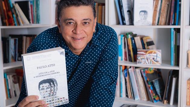 Dramaturgo Paulo Atto lança livro sobre censura ao teatro em 1980