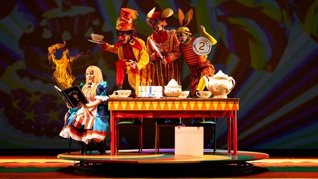 """Projeto apresenta adaptação circense do musical """"Alice no País das Maravilhas"""" - Foto: Daniel Augusto"""