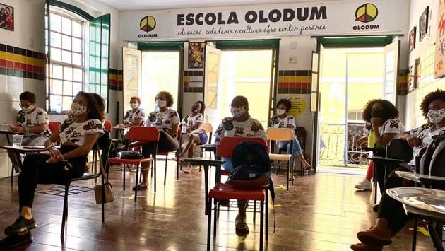 Escola Olodum inscreve para cursos de produção audiovisual e podcasts - Foto: Divulgação